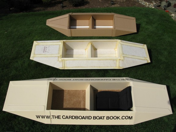 Wooden Cardboard Boat Building Plans PDF Download – DIY Wooden Boat ...